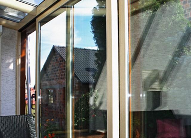 Holz-Schiebetüren für Terrassen, aus Polen