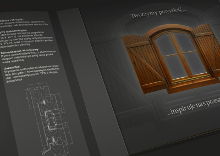 Katalog der Fenster und Türen aus Holz